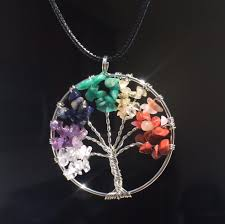 real crystals necklace images Tree of life healing crystal necklace bodyspirtitual jpg