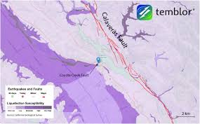San Francisco Liquefaction Map by Seismic Concerns Mount At Anderson Dam South Of San Jose Temblor Net