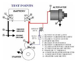 charging starting system voltage drop testing technical