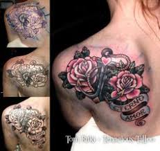 Tattoo Cover Up Ideas For Back The Black That I Need Covered Is Darker Than This I Think