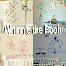 whinnie the pooh wall stickers home transfer graphic kids decal whinnie the pooh wall stickers home transfer graphic kids decal decor stencil