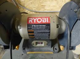 Ryobi Bench Grinder Price Bankruptcy Auction Metal Fabrication Custom Lighting In
