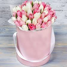 flowers in a box flowers in a box pink cloud buy flowers in a box pink cloud