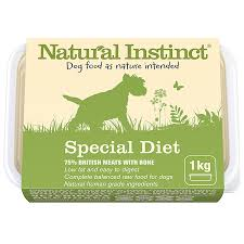special diet raw dog food natural instinct raw dog food