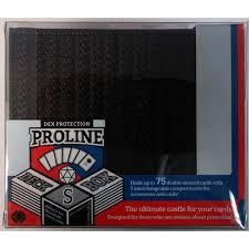 Troline Meme - protection proline deck box small black