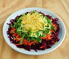 jamie oliver u0027s rainbow salad u0026 homemade dressing recipes u2013 eat