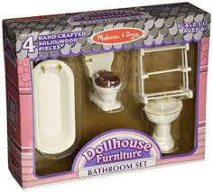 Dolls House Bathroom Furniture Doug Deluxe Doll House Bathroom Furniture Smart Made