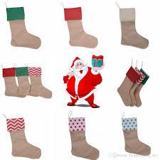 30 45cm canvas christmas stocking christmas gift bag stocking