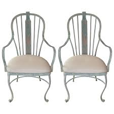 Garden Chairs Viyet Designer Furniture Seating Vintage Patinated Iron