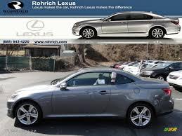 lexus is 250 convertible 2012 nebula gray pearl lexus is 250 c convertible 62036416