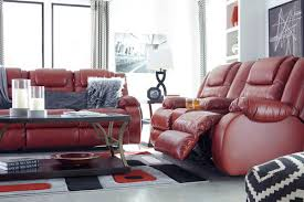 the vacherie salsa reclining sofa u0026 double reclining loveseat with