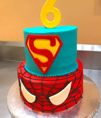 spiderman cake decorating photos