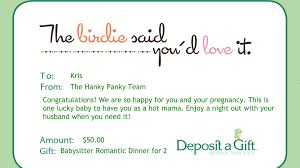 thank you card size baby showerift card wording unforgettable ideas thank you for