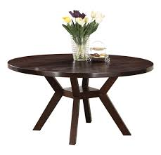 dark brown round kitchen table amazon com acme 16250 drake espresso round dining table 48 inch