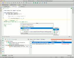 python gui designer comparison of python ides for development python central