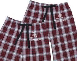 personalized pajamas etsy