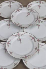 vintage china with pink roses vintage bavaria r s prussia germany china