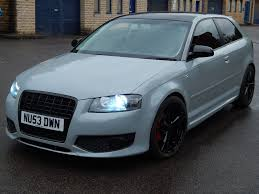 nardo grey audi a3 2 0 tdi sport s3 replica in nardo grey in stalybridge