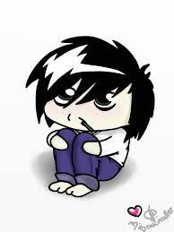 death note l chibi by beetlejoker on deviantart