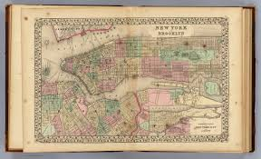 Framed Map Of The World by New York Brooklyn David Rumsey Historical Map Collection