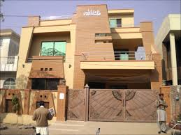 home front view design pictures in pakistan proficient real estate houses 10 marla brand new house for sale