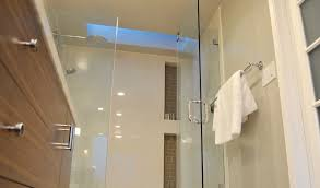 Chrome Shelves For Bathroom by Chrome Corner Head Shower With Built In Shower Niche For Soap