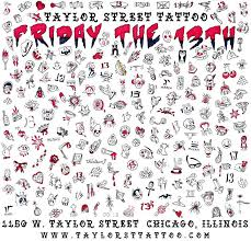 the 13th party taylor street tattoo chicago 12 october