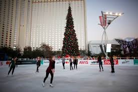 the park lights up for the holidays photos las vegas review journal