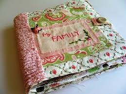 Making Photo Albums How To Make A Washable Cloth Photo Album Great For Babies And