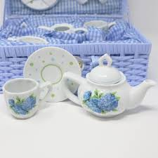 tea set hydrangea tea set the shops at mount vernon