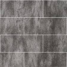 Black Tile Effect Laminate Flooring Clear Concrete 250mm X 1 2m X 10mm 2 Tile Effect