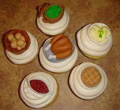 thanksgiving cup cakes the f word november 2011