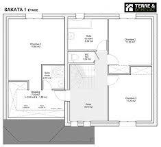plan de maison a etage 5 chambres bien plan de maison 5 chambres plain pied 7 plan maison etage