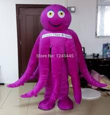 Octopus Halloween Costume Octopus Costumes Green Blue Purple Yellow Octopus Mascot Costume