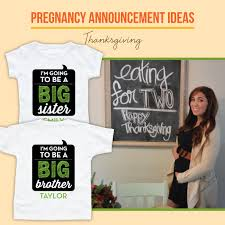 thanksgiving themed pregnancy announcement ideas lemon