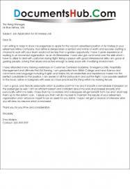 cover letter for air hostess job
