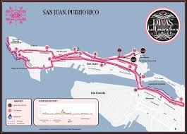 Where Is Puerto Rico On The Map Divas Half Marathon U0026 5k San Juan Puerto Rico