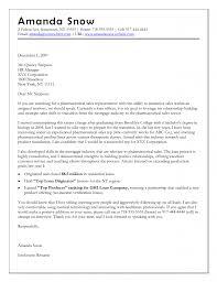 sample pharmaceutical sales resume cover letter objectives for