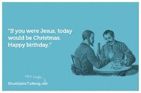 Christmas Birthday Meme - birthday shut up i m talking