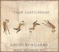 Bayeux Tapestry Meme - image 260694 medieval macros bayeux tapestry parodies
