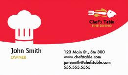 food industry u0026 restaurant business cards for free