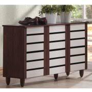 Shoe Cabinet 4d Concepts Deluxe Triple Shoe Cabinet Oak Walmart Com