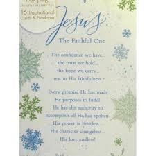dayspring jesus the faithful one christian cards