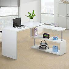 L Shaped Computer Desk White Corner Desks L Shaped Desks Ebay