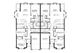 Floor Plans Two Story by Floor Plans For Multi Family Homes Part 41 Two Story Duplex