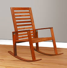 Acacia Wood Outdoor Furniture by Contemporary Acacia Wood Outdoor Indoor Rocking Chair Bella Esprit