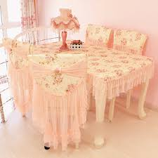 jual peach rose lace table cloth 60 60 shabby chic cover meja