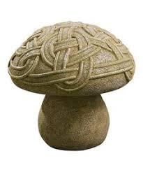 Celtic Garden Decor Grasslands Road Dublin Court Celtic Knot Garden Mushroom 9 1 2 By