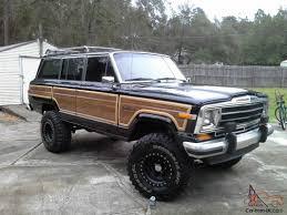 old jeep grand cherokee lifted jeep wagoneer classic