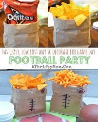 Super Bowl Decorating Ideas Football Super Bowl Party